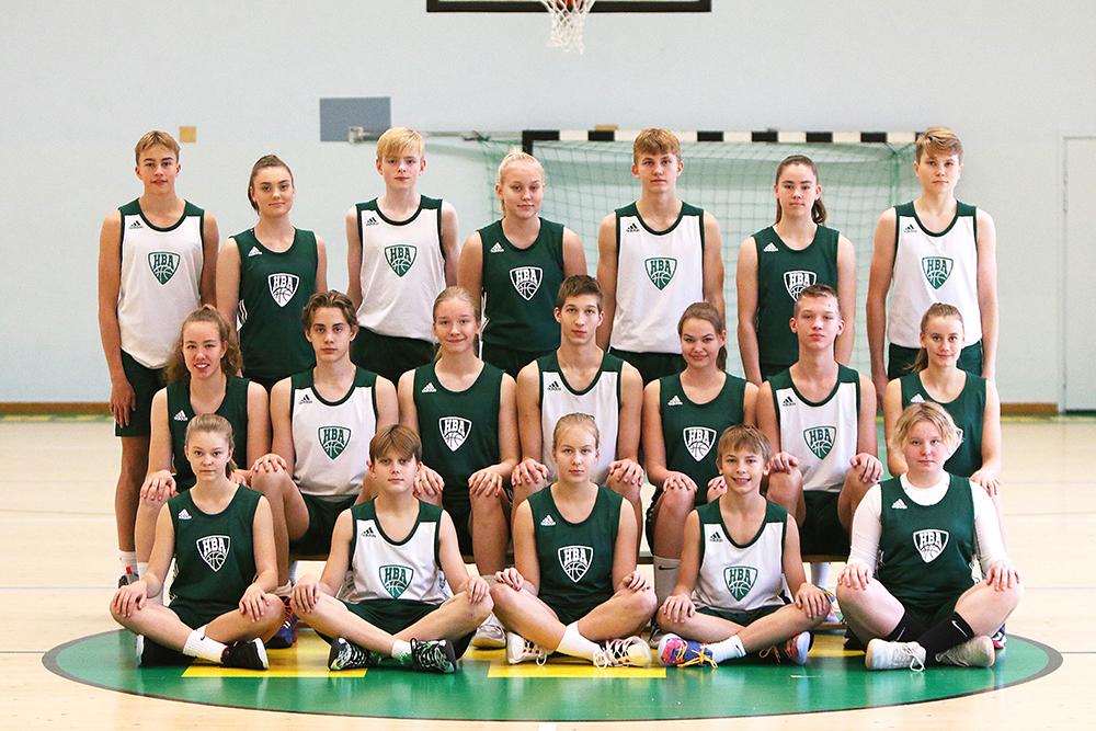 HBA-joukkuekuva 20-21